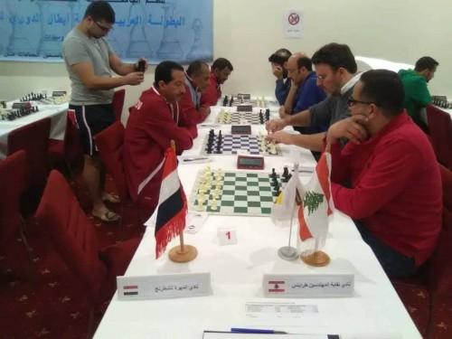 نادي المهرة يواجه فريق لبناني في بطولة الأندية العربية للعبة الشطرنج