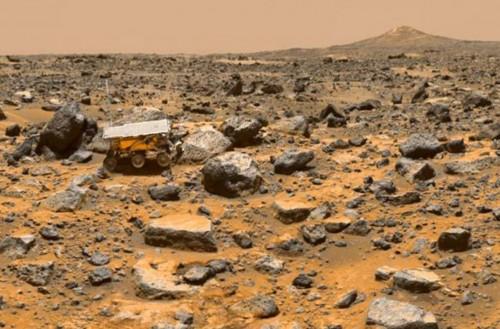 """مفاجأة.. """" ناسا """" تكشف وجود ماء وهواء بالمريخ"""