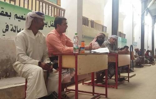 تشكيل لجنة لمتابعة مطالب شباب مديرية ساه بحضرموت
