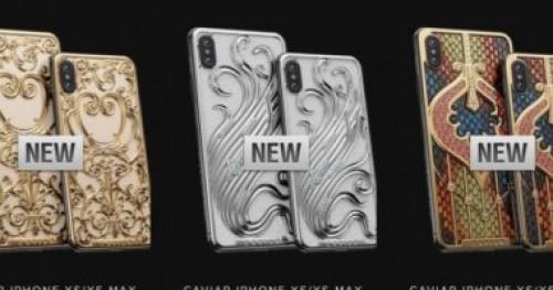 تعرف على سعر النسخة الذهبية من هاتفى آيفون XS وXS Max