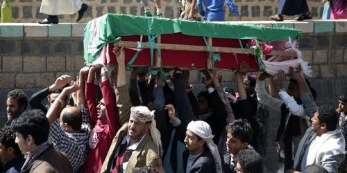 جنازات يومية بعمران لمقاتلي الحوثي في حجور