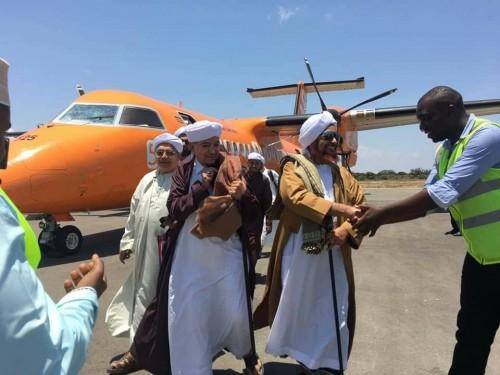 استقبال حافل للعلامة الحضرمي الحبيب عمر بن حفيظ في ماليندي (صور)