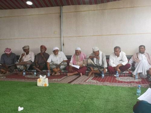 لجنة مبادرة السلام بين قبائل حضرموت تواصل لقاءاتها