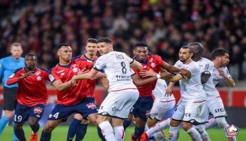 ليل يحقق فوز غالي يضمن له وصافة الدوري الفرنسي