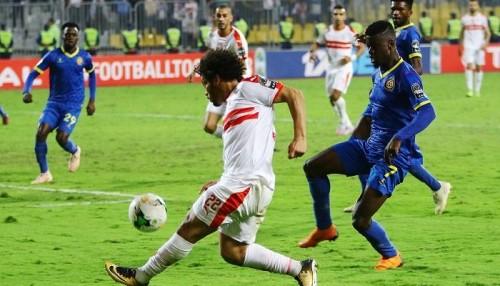 الزمالك يفوز على بترو أتليتكو الأنجولي 1-0