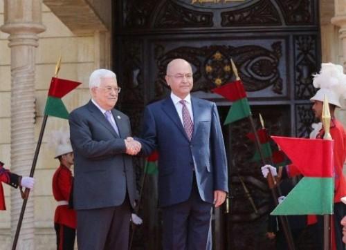 خلال زيارة عباس.. الرئيس العراقي يؤكد على ضرورة حماية المقدسات بالقدس