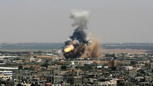 مقاتلات إسرائيلية تقصف أهدافاً لحماس بغزة