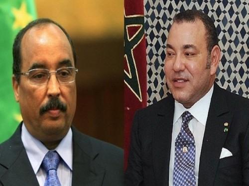 الرئيس الموريتاني يتسلم رسالة خطية من العاهل المغربي