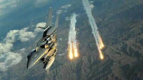 مقاتلات التحالف تقصف مخازن أسلحة للحوثيين جنوب صنعاء