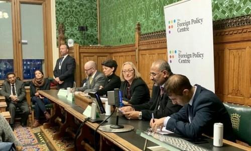 """""""المشهد العربي"""" ينشر نص كلمة الرئيس الزبيدي  في مجلس العموم البريطاني"""