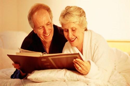 دراسة حديثة : الإنسان في عمر الـ70 أكثر سعادة