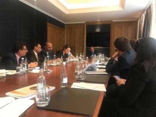 تفاصيل لقاء الزبيدي مع المنظمات الدولية غير الحكومية بلندن