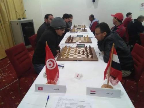 المهرة يتعادل مع تونس بالجولة الخامسة بالبطولة العربية للشطرنج
