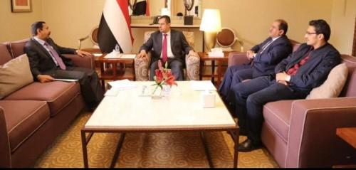 لقاء هام بين رئيس الوزراء ومحافظ شبوة (تفاصيل)