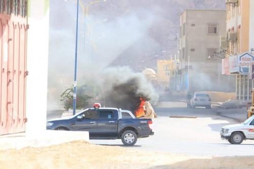 """تحركات عاجلة لـ""""قوات الأحمر"""" لمواجهة طوفان الغضب في حضرموت الوادي والصحراء"""
