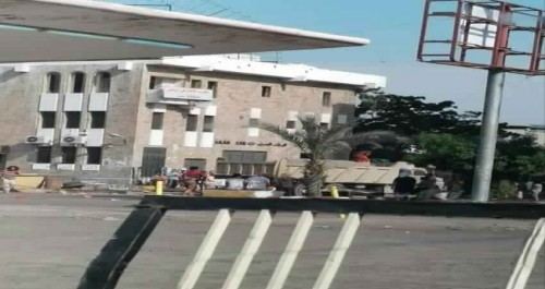 عناصر تخريبية تابعة للإصلاح تقطع شارع مدرم بالمعلا