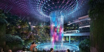 بغابة وشلال ضخم.. سنغافورا تفتتح مطاراً عالمياً مبهراً (صور)