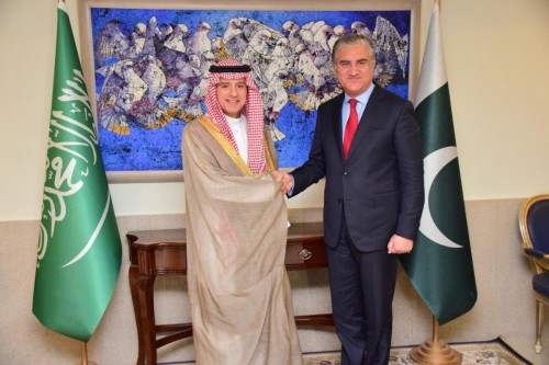 الجبير يُوجه رسالة لقادة دولة باكستان (تفاصيل)