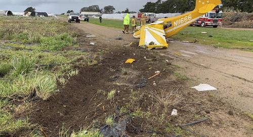 مقتل 5 أشخاص في تحطم طائرة صغيرة بولاية فلوريدا الأمريكية