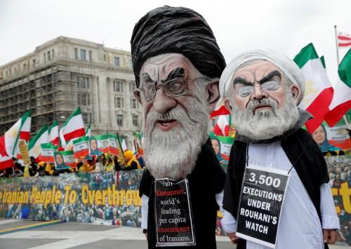 """مظاهرات معارضة للنظام الإيراني بواشنطن للمطالبة بـ"""" التغيير """""""
