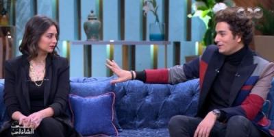 هبة مجدي تكشف عن العادة الغربية لزوجها محمد محسن (فيديو)