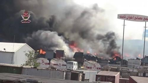 مليشيا الحوثي تجدد قصفها لمجمع إخوان ثابت