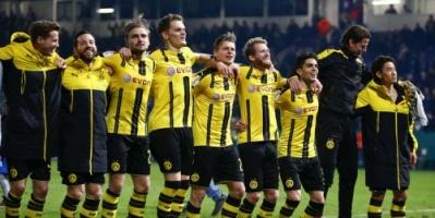 بروسيا دورتموند يفوز على شتوتجارت في الدوري الألماني