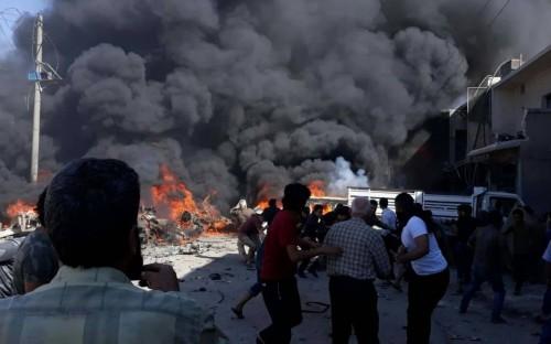 عشرات القتلى والجرحى في تفجير بمنبج السورية