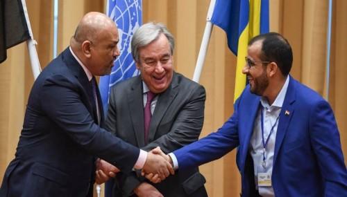 أنعم: اتفاق السويد احترقت أوراقه اليوم بنيران الحوثي!