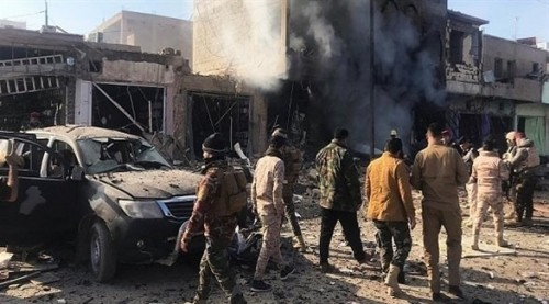 إصابة 3 مواطنين جراء سقوط صاروخ بمحافظة الأنبار العراقية