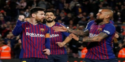 برشلونة يفوز على رايو فاليكانو 3-1 في الدوري الإسباني