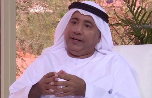 عائلة الفنان الإماراتي حميد صالح سمبيج تتلقى العزاء فيه