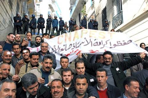 """الجزائر تشهد إضرابا جزئي رفضا لترشح """" بوتفليقة """""""