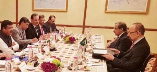 الفالح يعرب عن سعادته بعقد لقاءات مثمرة في الهند