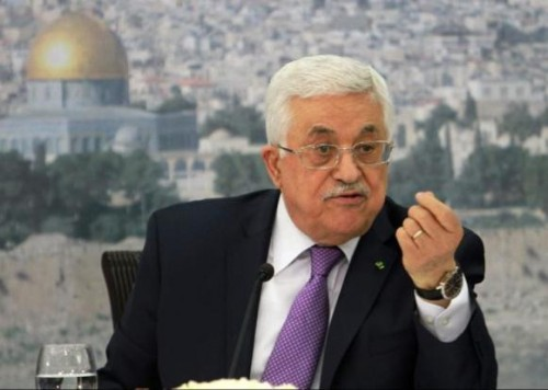 """""""عباس"""" لوفد إسرائيلي: سنمد أيدينا لأي حكومة تؤمن بحل الدولتين"""
