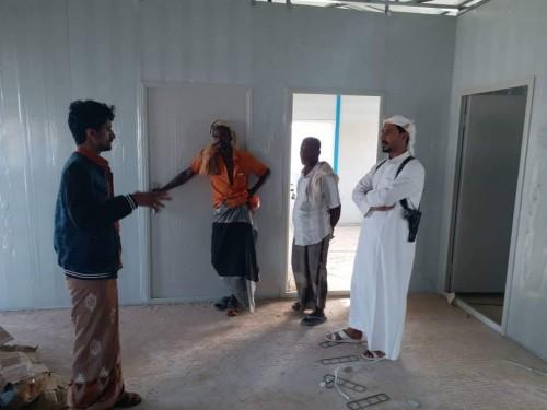 """مندوبو """" حملة منزل """" يعاينون سير العمل في بناء وتركيب المنازل في مديرية المسيلة"""