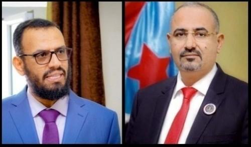 الزُبيدي وبن بريك عن قائد مقاومة حجور: رفض حالة الذل والخنوع وخذلان الجماعات الإخوانية