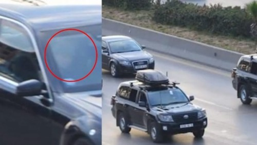 """لحظة ظهور """" بوتفليقة """" خلال الموكب الرئاسي بالجزائر (فيديو)"""