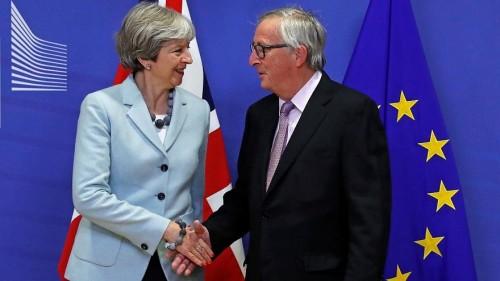 """"""" المفوضية الأوروبية """" توافق على تعديلات صفقة انسحاب بريطانيا من الاتحاد الأوروبي"""
