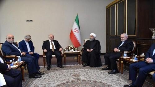 رغم إبعاده عن الحكومة.. العبادي يلتقي روحاني في بغداد