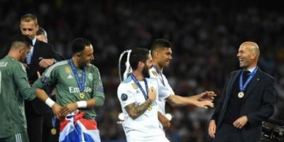 بعد إعلان ريال مدريد عودته لتدريب الفريق.. زيدان: سنعود للمنافسة مجددا