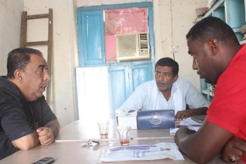 مناقشة حقوق عمال نفط حضرموت مع الاتحاد العام للنقابات