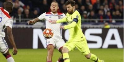 برشلونة ضد أولمبيك ليون.. هل يلقى البارسا مصير ريال مدريد بدوري أبطال أوروبا؟