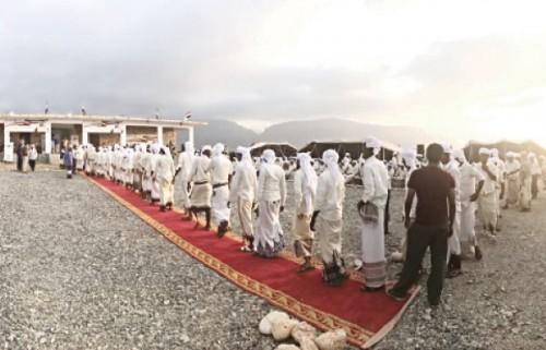 خليفة بن زايد للأعمال الإنسانية تقيم العرس الجماعي الثاني بسقطرى