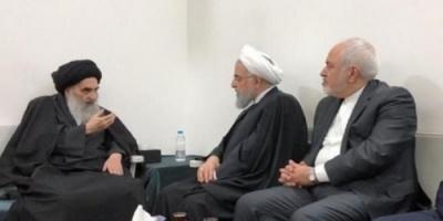 """""""السيستاني"""" يطالب روحاني باحترام سيادة الدول والابتعاد عن شؤونها"""