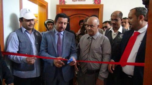 افتتاح المعهد التقني الصناعي بشبوة (صور)