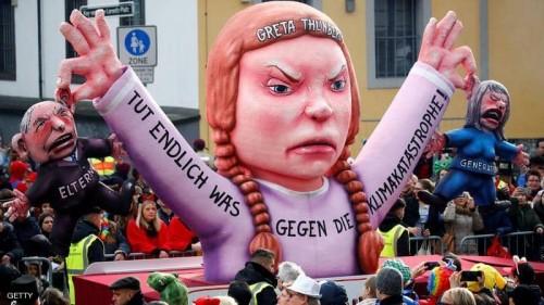 """ترشيح """"تونبرغ"""" السويدية لجائزة نوبل للسلام"""