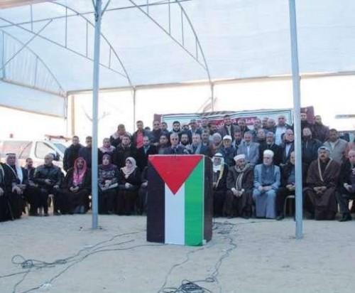 """"""" العليا لمسيرات العودة وكسر الحصار """" تدعو إلى إضراب عام في فلسطين"""