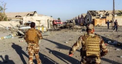 """تدمير موقعا لتنظيم """" داعش """" الإرهابى بداخله 9 عناصر بكركوك"""