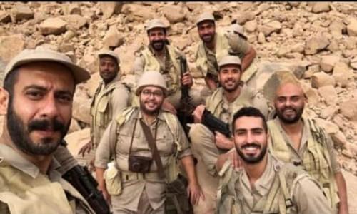 لأول مرة.. شاهد كواليس النجم أحمد عز في فيلم الممر (فيديو)